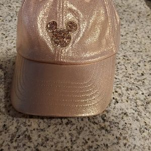 Rose Gold Mickey Hat